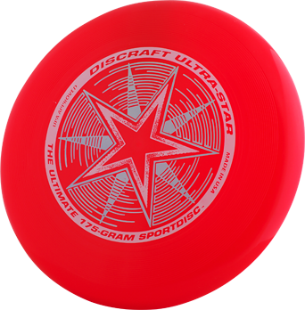 Discraft Ultra-Star Bright Red